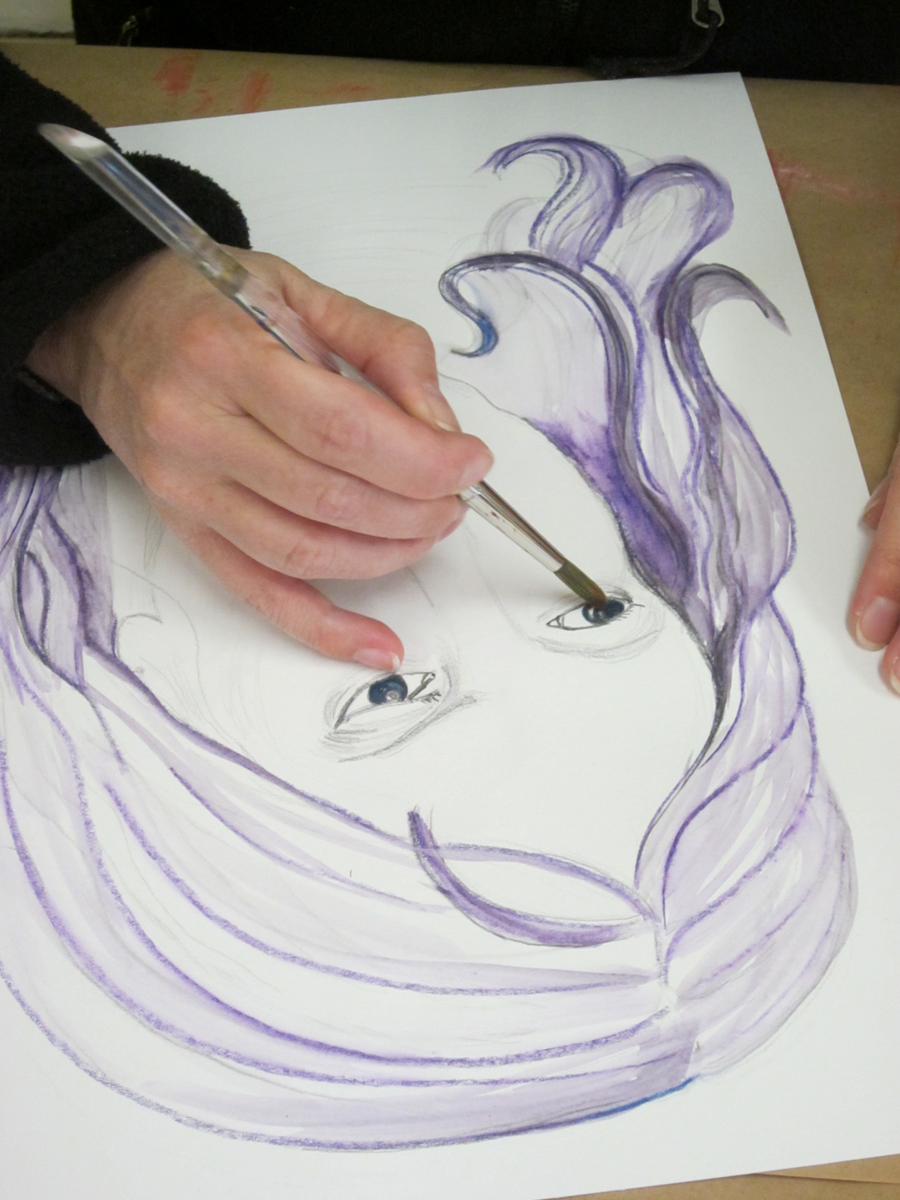 A day of drawing with Sue Hooper